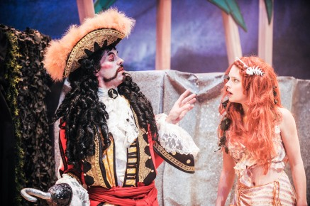 L-R  Jesse Buck (Hook), Katie Ryerson (Amazon Anne)