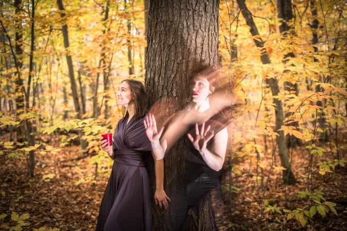 Pictured (L-R): Naomi Tessler and Amelia Griffin; Photography by Andrew Alexander