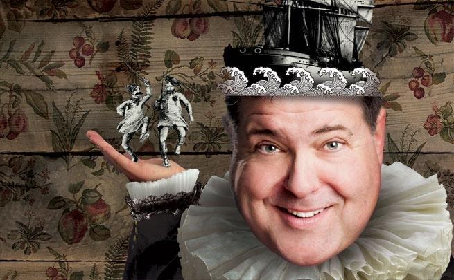 Bruce Dow as Malvolio; nac-cna.ca publicity image