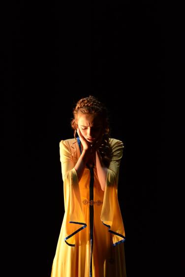 Pictured: Alexandra Milman; Photograph courtesy of Once Upon a Kingdom Theatre