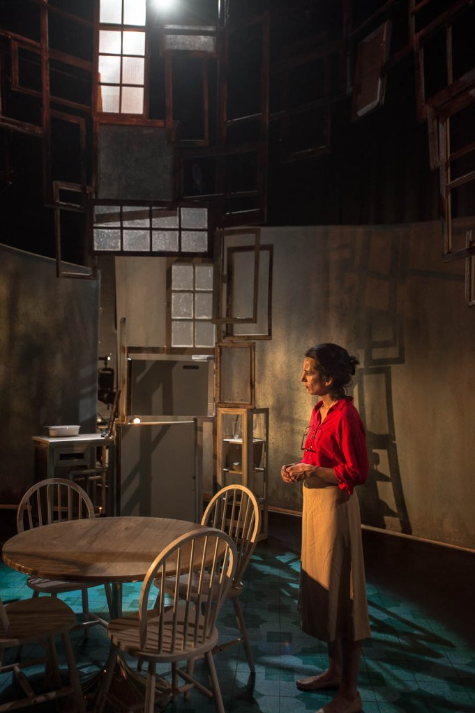 Pictured: Deena Aziz; Set Design by ; Photography by Andrew Alexander