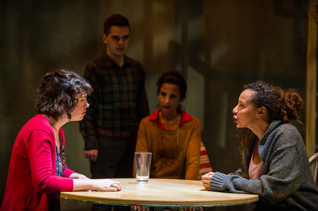 Pictured L-R: Manon St. Jules, Adrien Pyke (standing), Deena Aziz, and Rachelle Casseus; Photography by Andrew Alexander