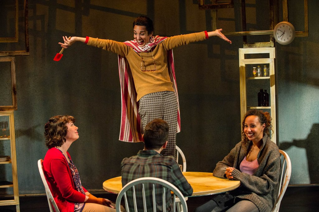 Pictured L-R: Manon St. Jules, Deena Aziz (standing), Adrien Pyke, and Rachelle Casseus; Photography by Andrew Alexander