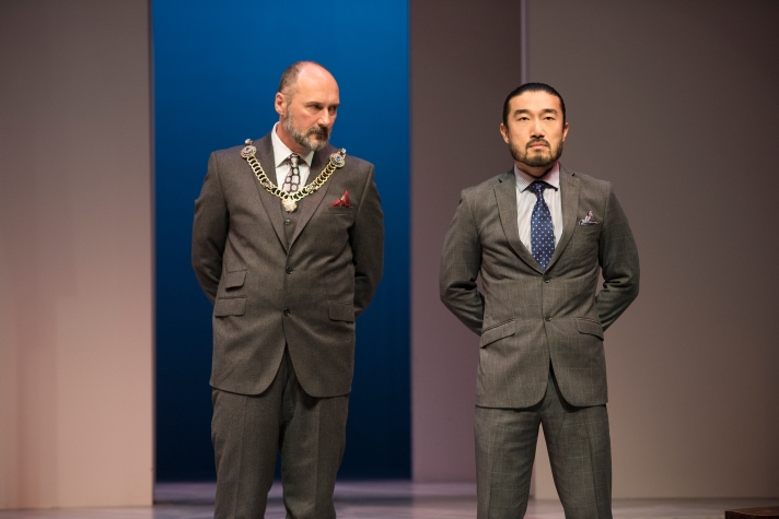 Pictured L-R: Becker and Sean Baek; Photography by Emily Cooper