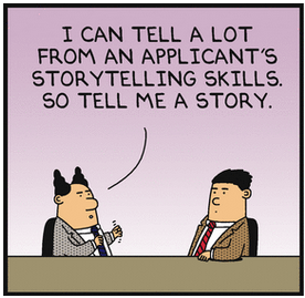 dilbert-on-storytelling