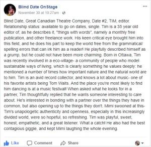 blind date facebook