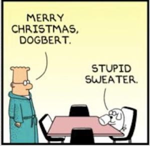 dilbert christmas