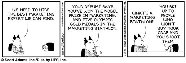 dilbert marketing